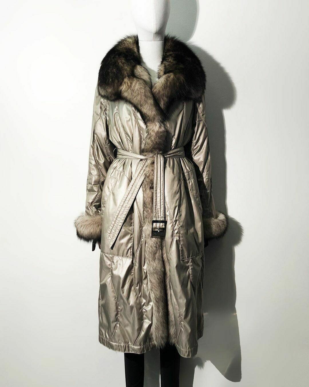 Двустороннее пальто от Laplandia furs