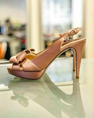 Новые шелковые туфли от Valentino