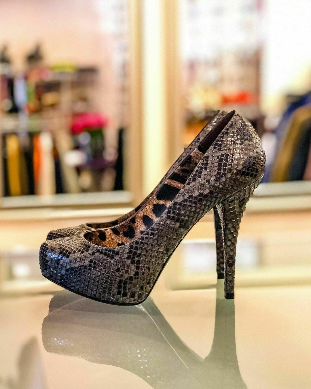 Новые туфли из питона от Dolce Gabbana