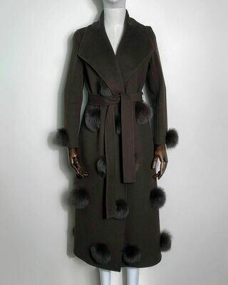 Новое пальто без подклада от Blumarine