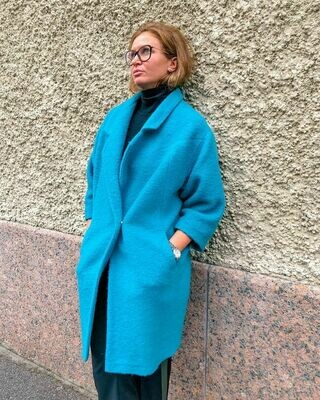 Пальто «кокон» от Libellulas