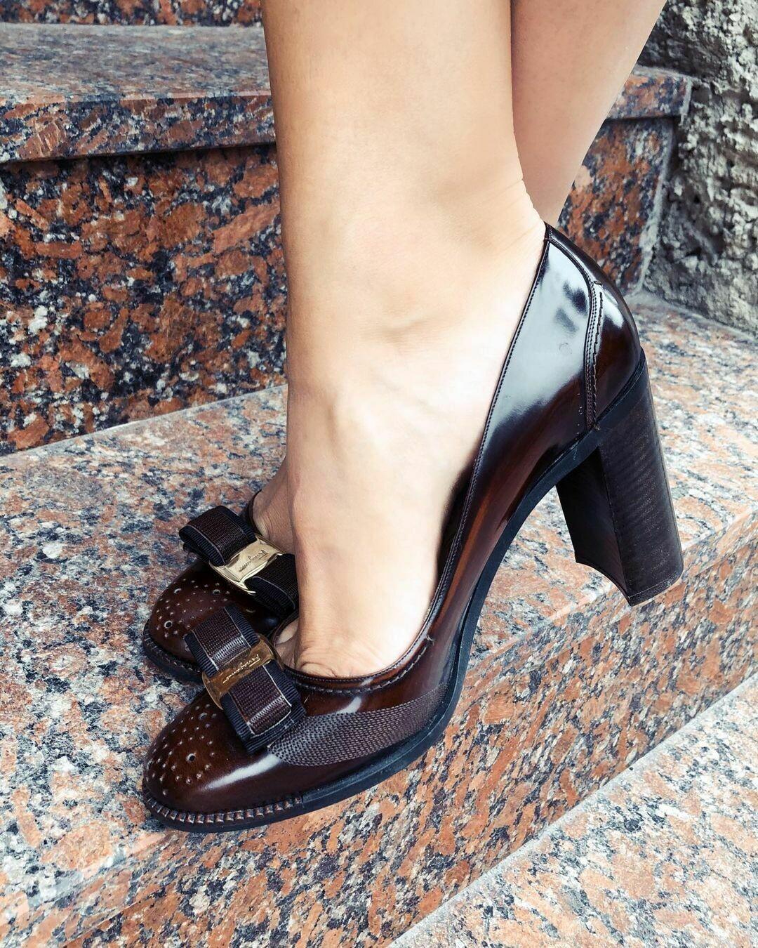 Новые туфли от Ferragamo