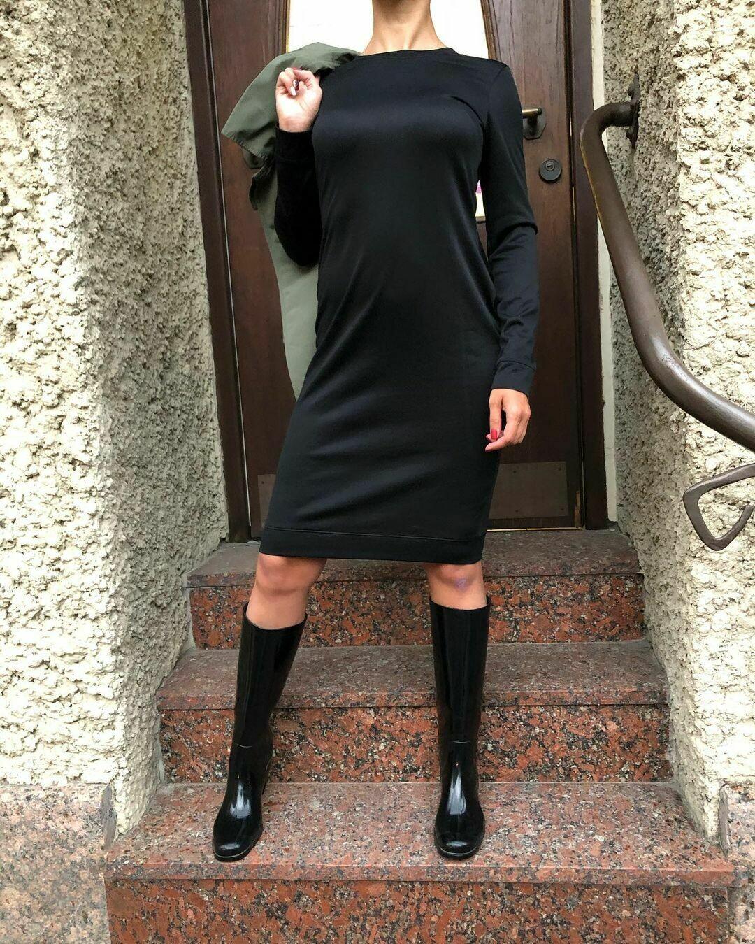 Трикотажное платье от Y-3