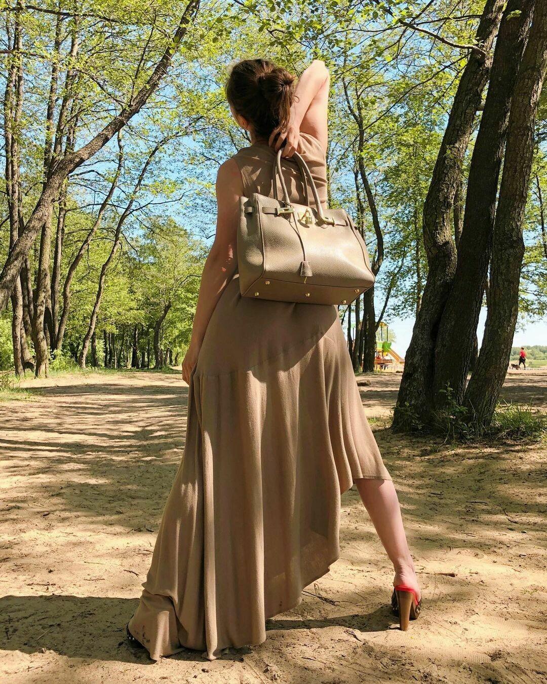 Новое асимметричное платье от Maison Margiela