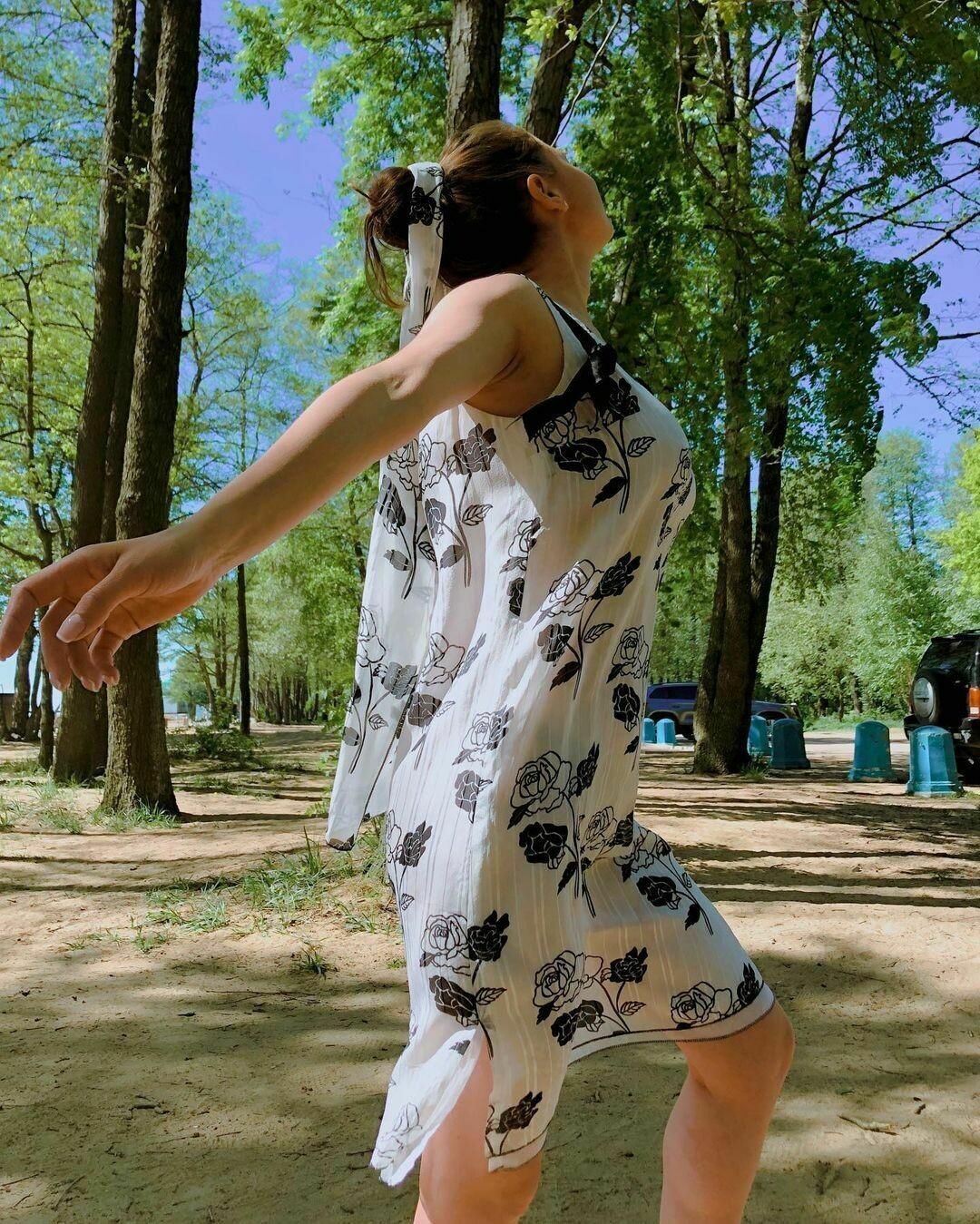 Шёлковое платье от Chanel