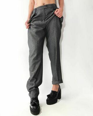 Новые брюки с защипами от Giorgio Armani