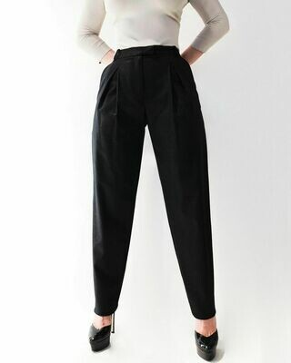 Новые брюки с защипами от Irfe