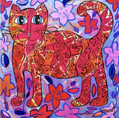 Marcel et les hibiscus