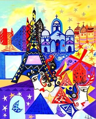 Parisiennes au crépuscule