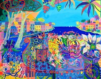 Jardin secret en Méditerranée
