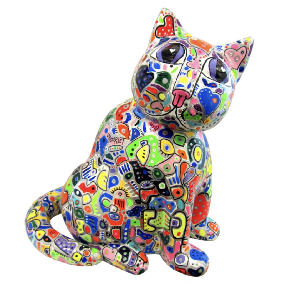 Marcel chat de peintre