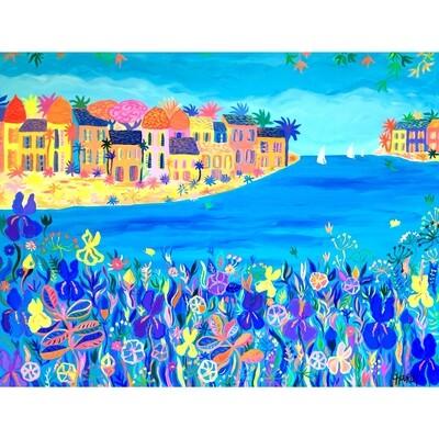Méditerranée aux iris