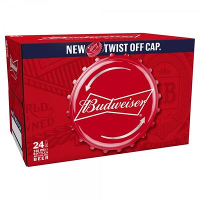 Budweiser 24X330 ml