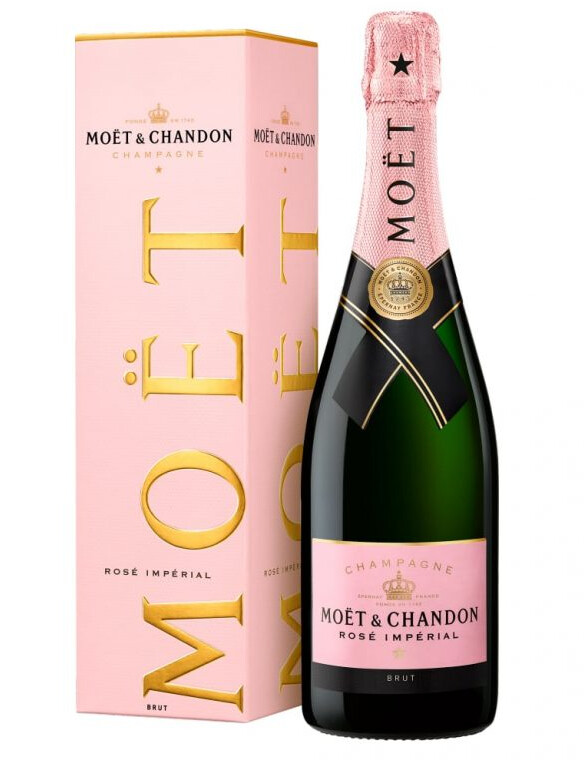 Moet & Chandon Rose Non Vintage Champagne 75Cl