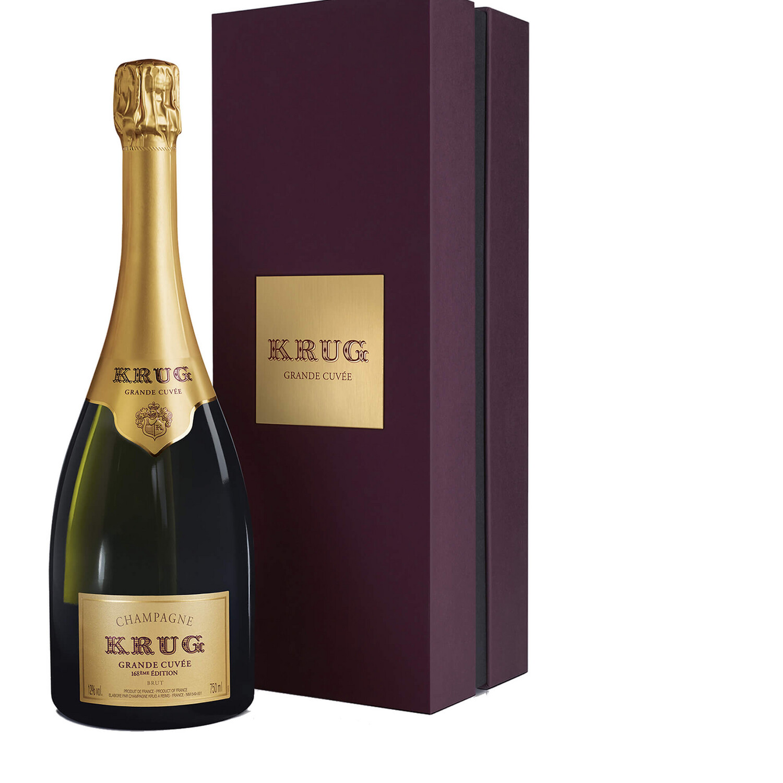 Krug Grande Cuvee Edition 168 Champagne 75CL