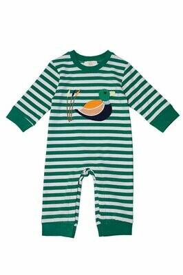 Duck Knit Boy Romper