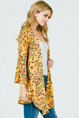 Mustard Floral