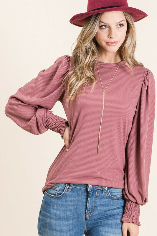 Mauve long sleeve