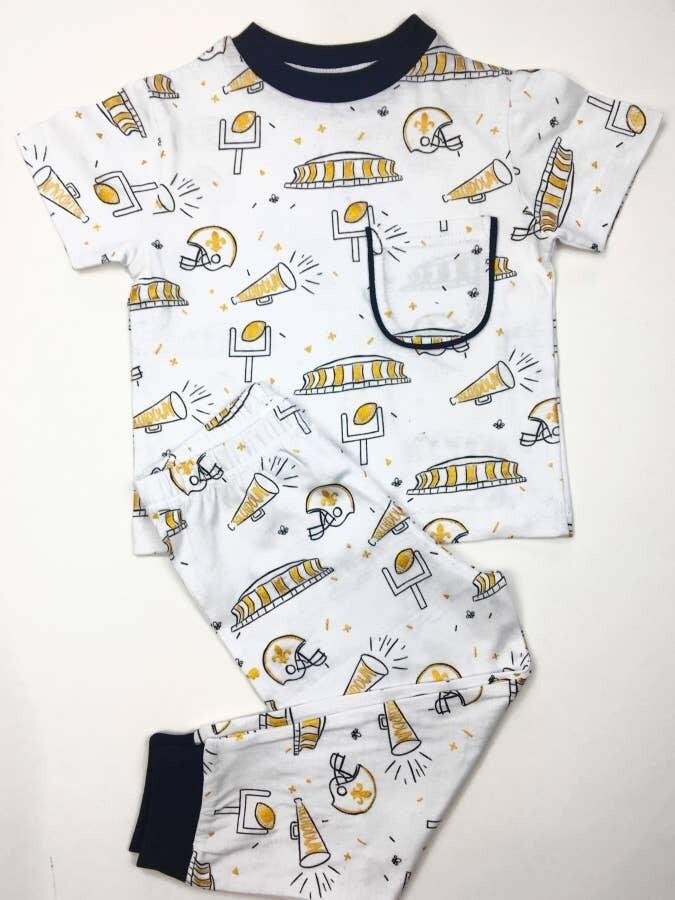 Black and Gold Organic Pajama