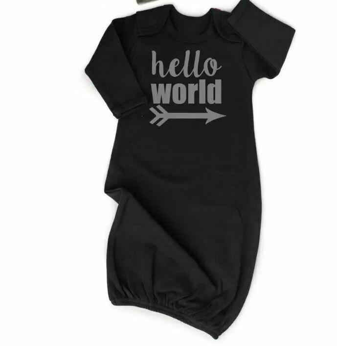 hello world gown