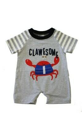 Clawsome Crab onesie