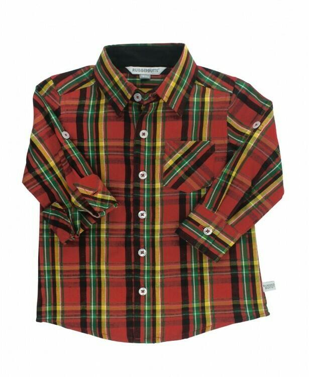 Remington plaid button down shirt