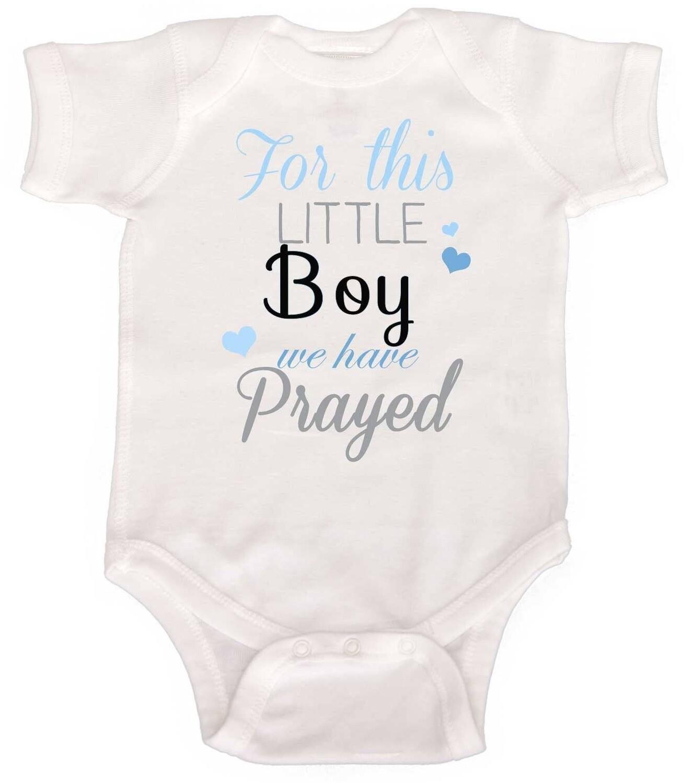 This little boy we prayed