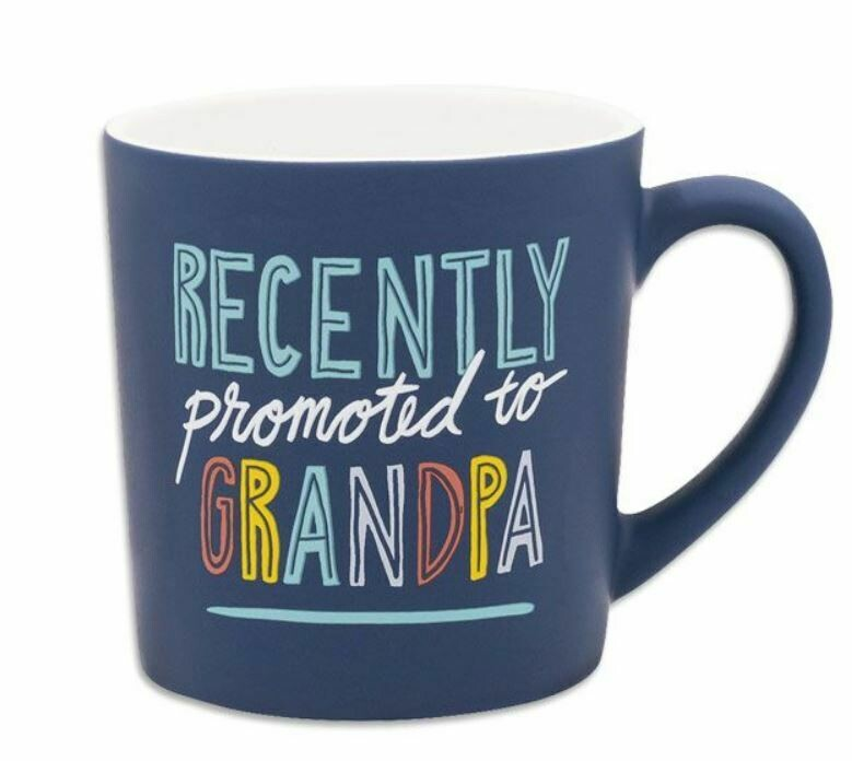 promoted grandpa mug