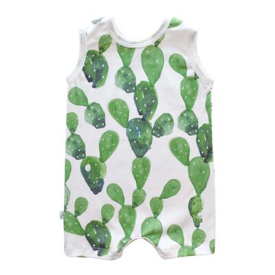 Cactus organic tank romper