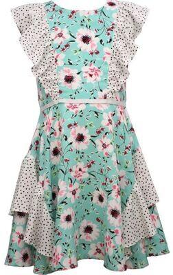 Floral / Dot Dress