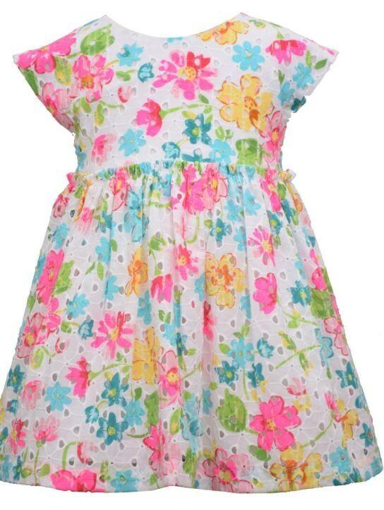 Floral Dress / Bloomer Set