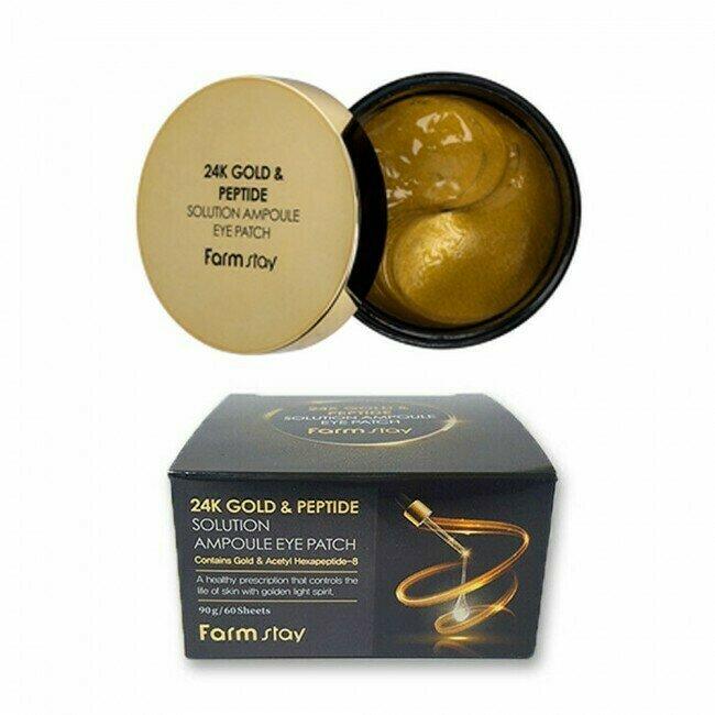 FARM STAY 24K Gold & Peptide Eye Patch 90g