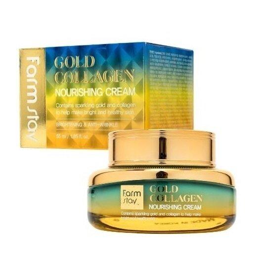 FARM STAY Gold Collagen Nourishing Cream 55ml