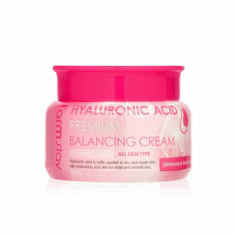 FARM STAY Hyaluronic Acid Premium Balancing Cream 100g