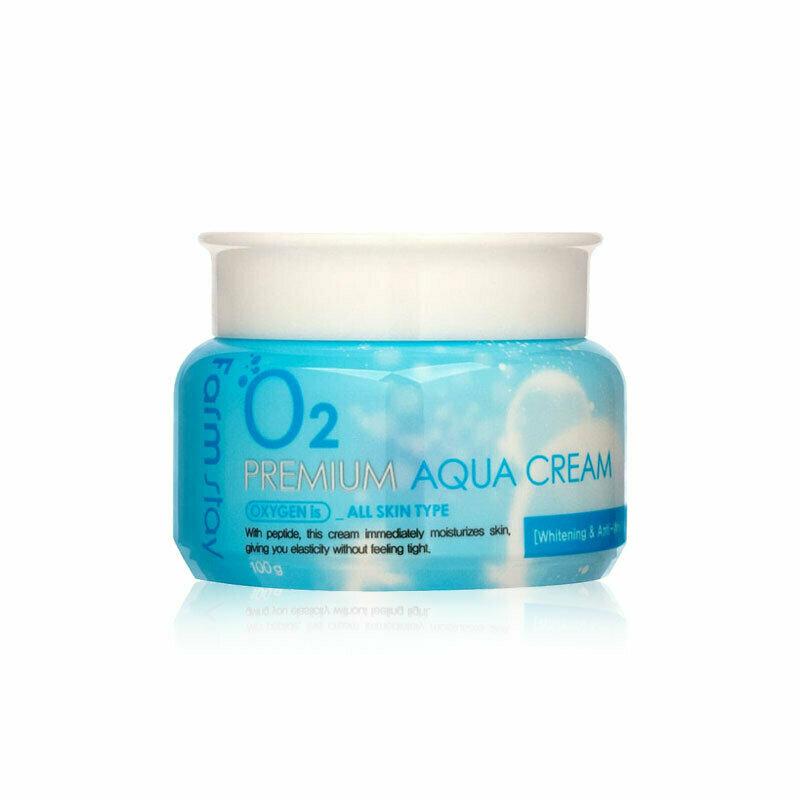 FARM STAY O2 Premium Aqua Cream 100g