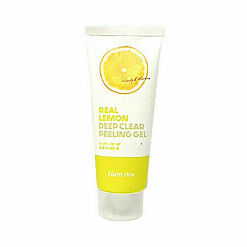 FARM STAY Real Lemon Deep Clear Peeling Gel 100ml