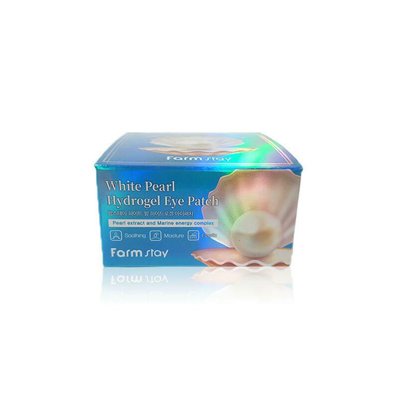 FARM STAY White Pearl Hydrogel Eye Patch 90g