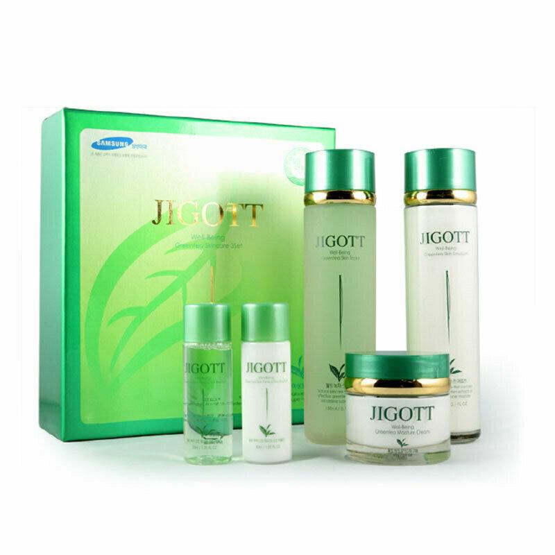 JIGOTT Well-Being Greentea Skincare 3 Set