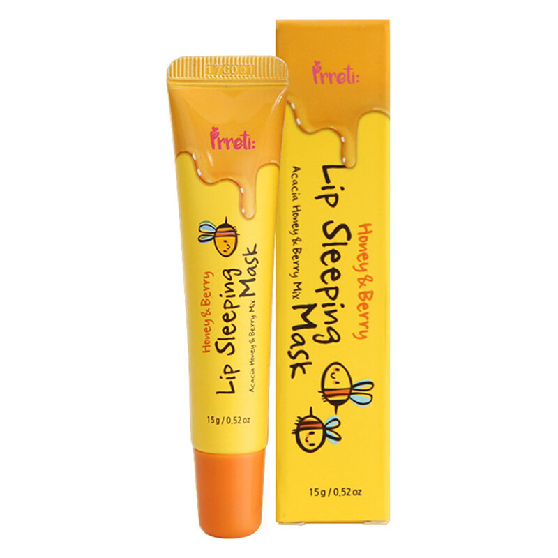 PRRETI Honey & Berry Lip Sleeping Mask (Tube)