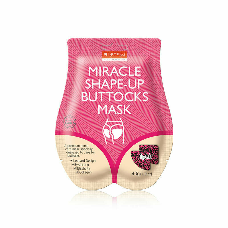 PUREDERM Miracle Shape-Up Buttocks Mask 40g * 1pair