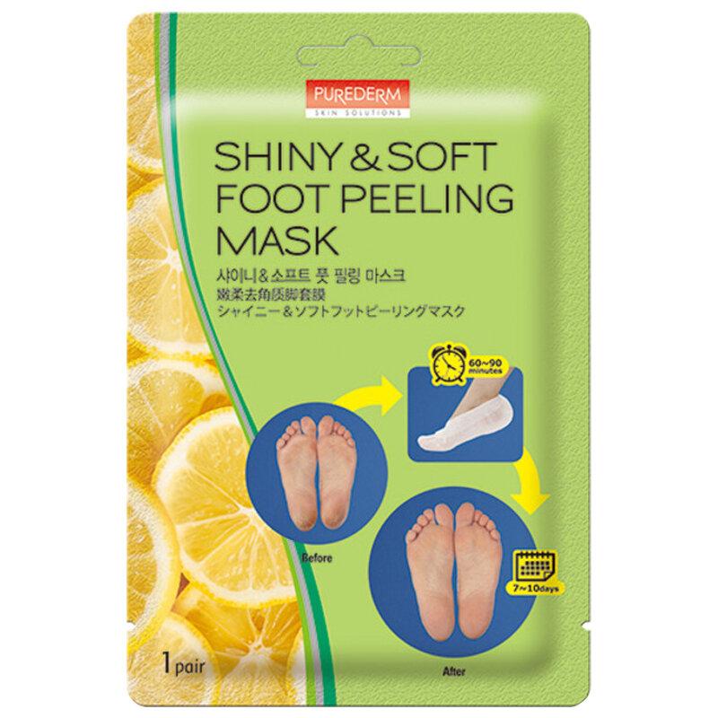 PUREDERM Shiny & Soft Foot Peeling Mask 1 pair