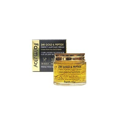 FARM STAY 24K Gold & Peptide Perfect Ampoule Cream 80ml
