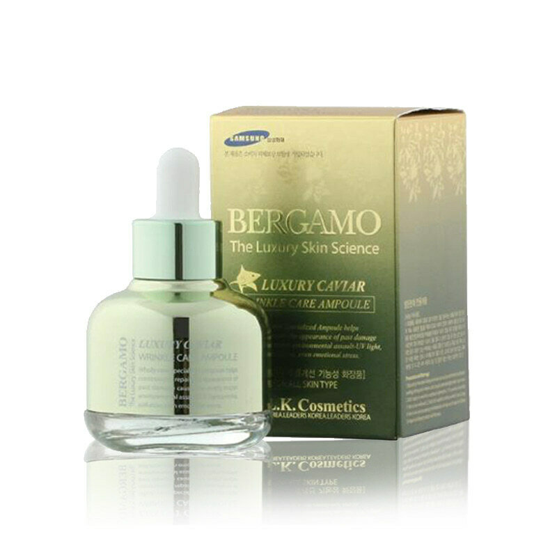 BERGAMO Luxury Caviar Wrinkle Care Ampoule 30ml