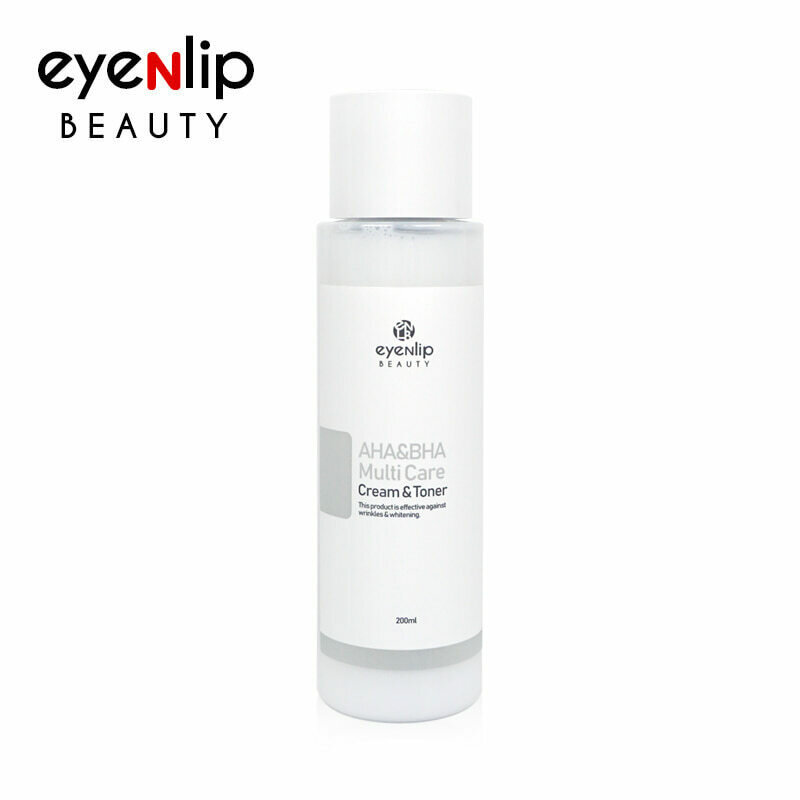 EYENLIP AHA&BHA Multi Care Cream & Toner 200ml
