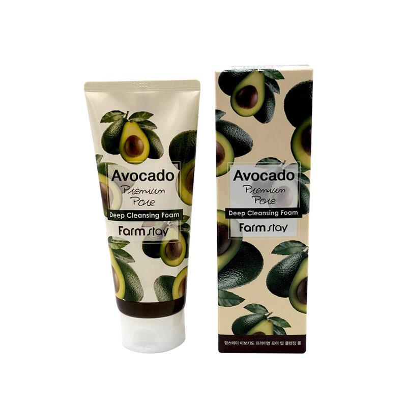 FARM STAY Avocado Premium Pore Deep Cleansing Foam 180ml