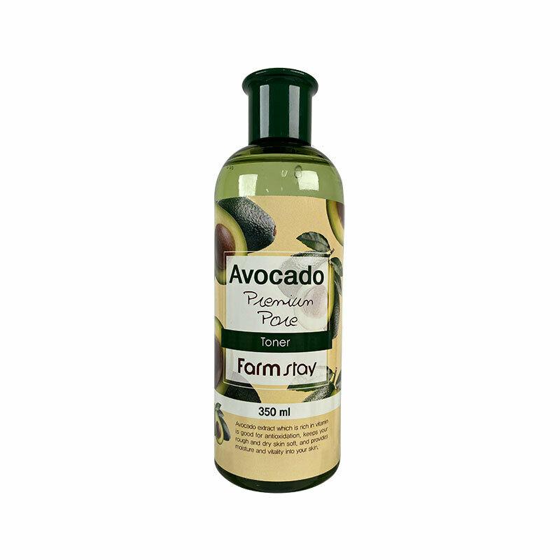 FARM STAY Avocado Premium Pore Toner 350ml