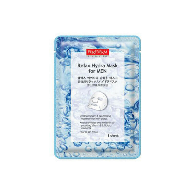 PUREDERM Relax Hydra Mask for MEN 18g