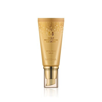 MISSHA M Gold Perfect Cover B.B Cream (SPF42/PA+++) #21 Light Beige 50ml