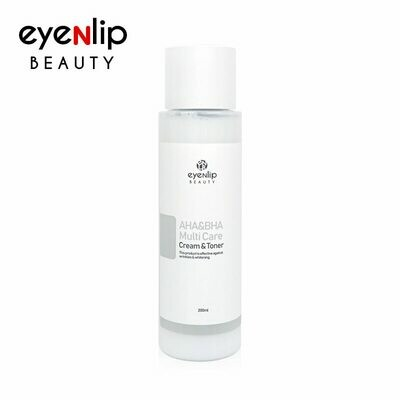 EYENLIP AHA&BHA Multi Care Cream & Toner 200ml