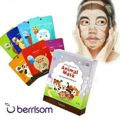 BERRISOM Animal Mask Series Set 25ml*7pcs